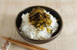 有楽町の福岡アンテナショップで購入した「味匠 高菜庵」の辛子たかな