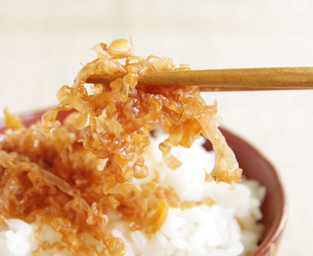 切りいかと生姜の煮物