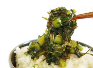 【ネバネバ・トロトロ】軽井沢のご飯のお供といえばこれ!!「野沢菜昆布」