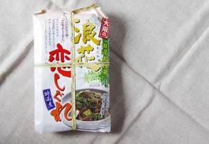 【くいだおれの街のご飯の友】有楽町の大阪百貨店で購入した「浪花恋しぐれ」