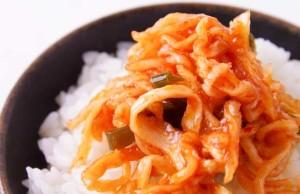 【ネバネバパリパリ食感】島根県 みやもと食品の「はりはりキムチ」