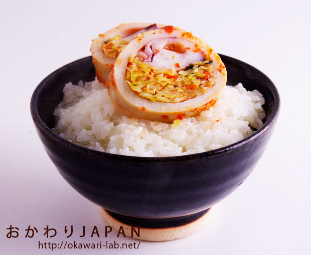 能登いか野菜づめ(キムチ味)-6